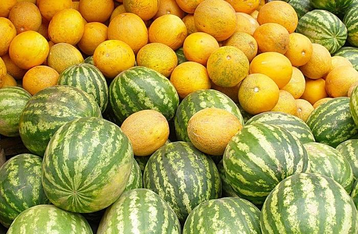 Как выбрать спелый арбуз или дыню