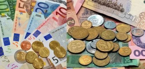 курс евро в 2017 году в Украине