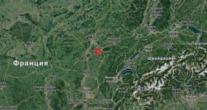 Землетрясение 3 декабря на территории Франции