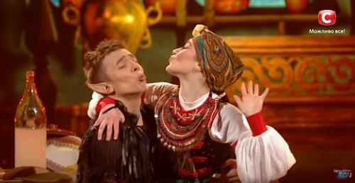 Влад Курочка и Илона Федорко