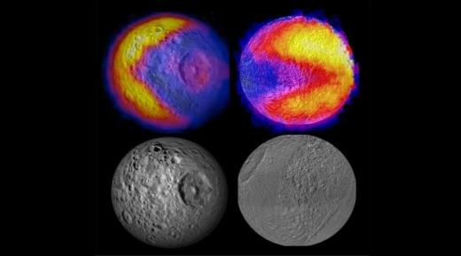 Спутник Сатурна Мимас