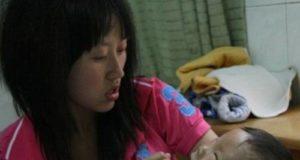 Мальчик с двумя лицами живет в Китае
