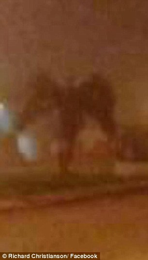 Фотография демона
