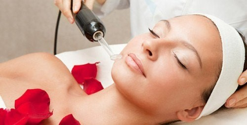 Воздействие аппарата дарсонваль на кожу