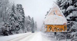 Жители испанского города увидели снег впервые за 100 лет