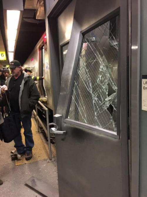 Катастрофа поезда в США
