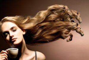 маска для волос на основе кофе