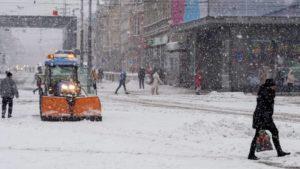 Аномальные холода в Европе. 17 человек погибли от мороза