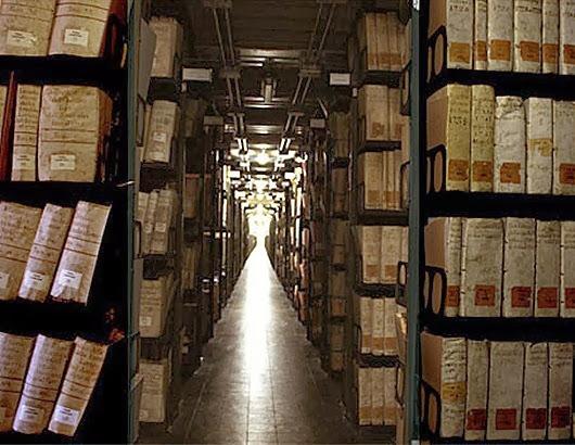Секретные архивы спрятанные за стенами Ватикана