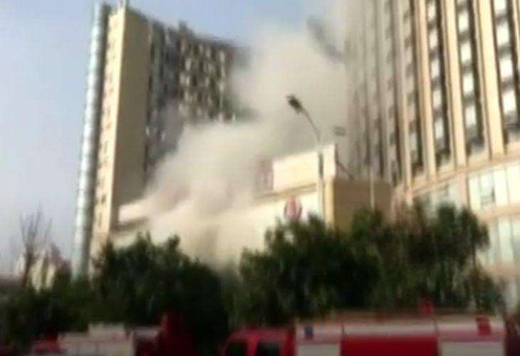 Огненный ад в Китае