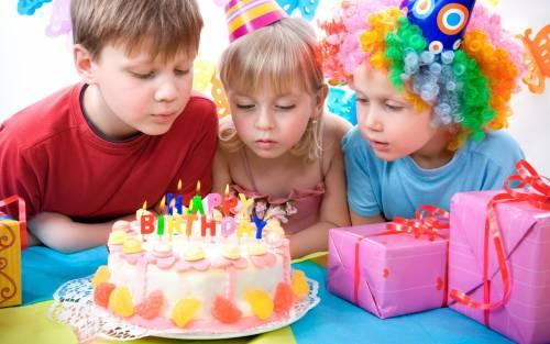 Развлечения на Дне Рождения ребенка