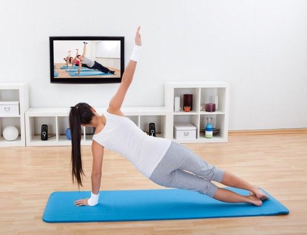 Фитнес тренировки в домашних условиях