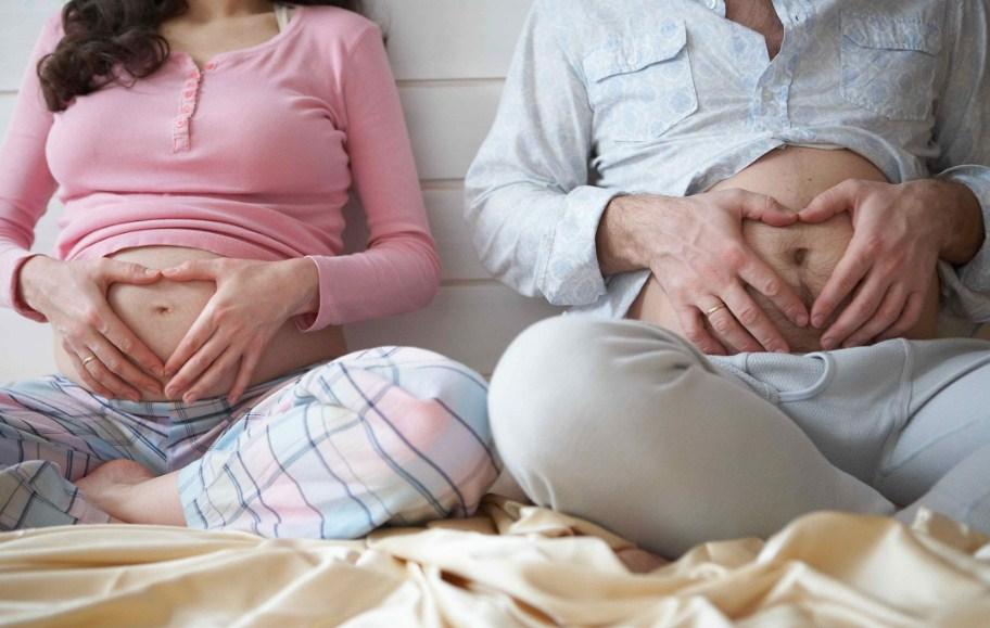 Совместные роды: муж в шоке!