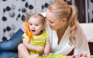 Игры с мамой – это важно и интересно