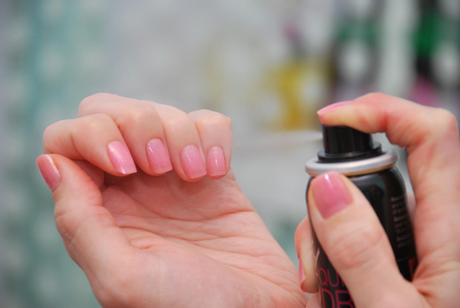 Как сделать так чтобы лак на ногтях быстрее высох лак