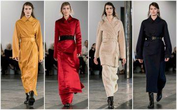 Женский гардероб зимы 2017-2018: Платья