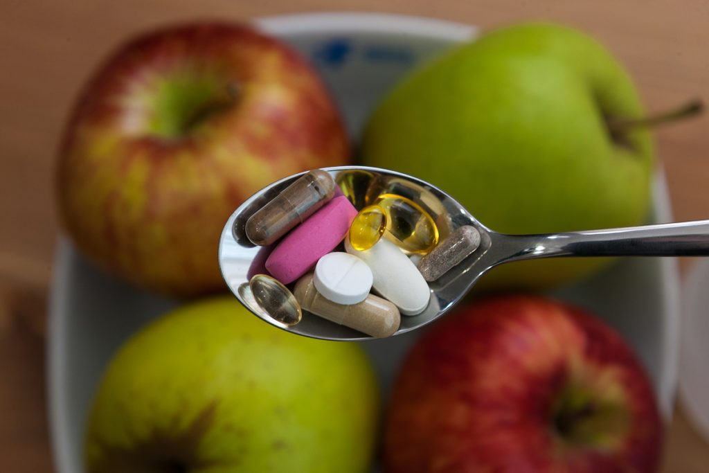 витамины и спортивное питание