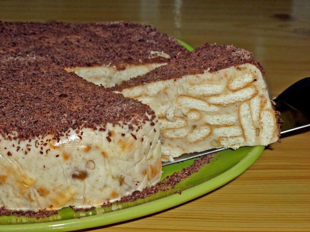 Торт из печенья и творога рецепт с фото - Pinterest