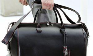 Покупка мужской сумки через сеть