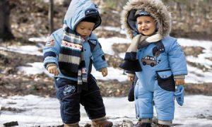 Зимняя одежда для ребенка: правила выбора