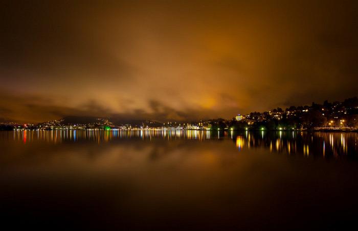 Люцерн ночью