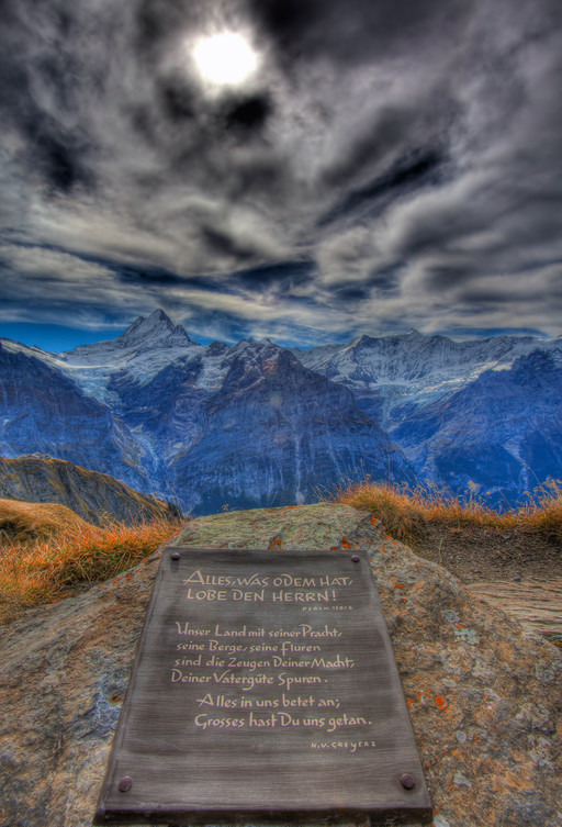 Швейцарские Альпы близ Интерлакена