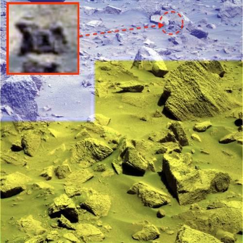 Древнее сооружение на Марсе